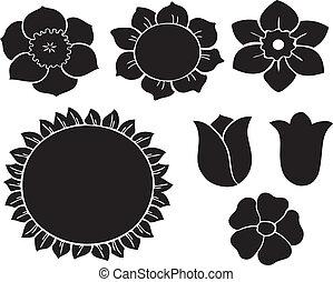 vector flowers 19