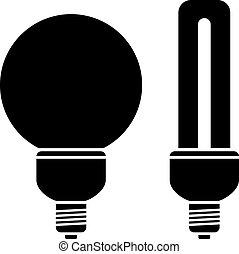 vector fluorescent compact bulbs