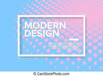 Vector flyer cover template