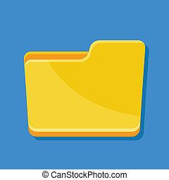Vector Folder Icon