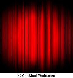 vector, fondo rojo