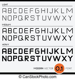 Vector Font Design