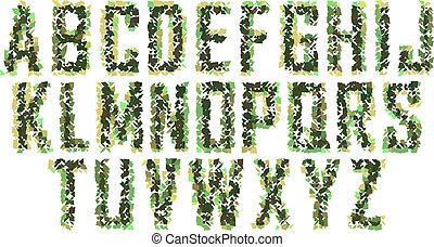 Vector font