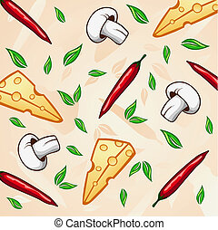 vector food background