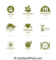 Vector Food Design Elements