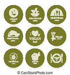 Vector Food Design Elements