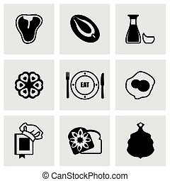 Vector Food icon set