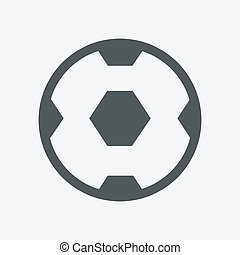 vector, football bal, (soccer)