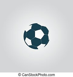 vector football ball - soccer