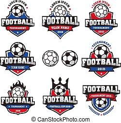 Vector Football Cup Logo