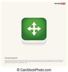 Vector four arrows icon