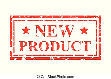 four style red rubber stamp, new product