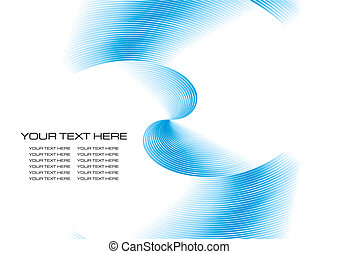 Vector fractal background