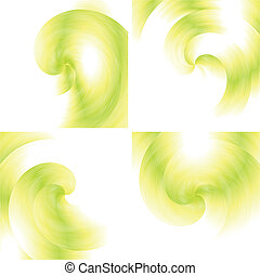 Vector fractal backgrounds