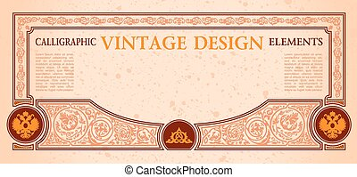 vector frame certificate coupon template design elements....