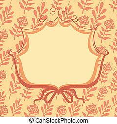 vector frame decorative flowers
