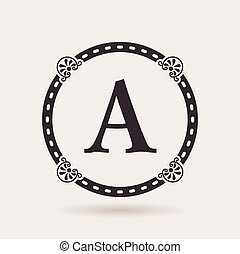 Vector frame design templates. Vintage labels and badges for logo