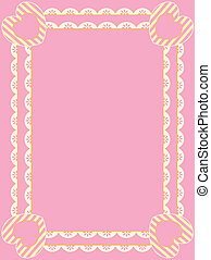 Vector Frame With Eyelet, Copy Spac