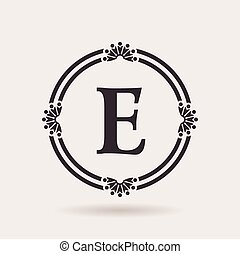 Vector frames design templates. Vintage labels and badges for logo