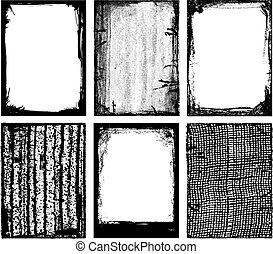 Vector Frames & Textures