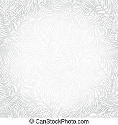 Vector frosty background (seamless) - Floral pattern on a ...