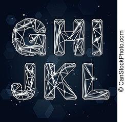 vector, fuente, constelación, g-l