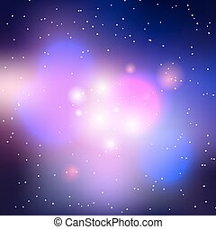 Vector galaxy background