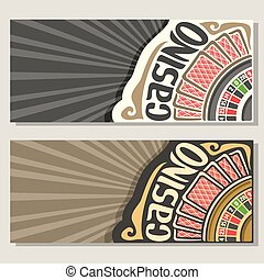 Vector gamble banners