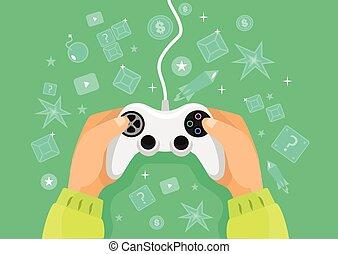 Vector game illustration