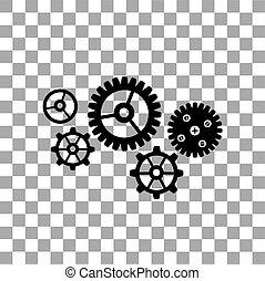 gear cog wheel symbol