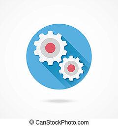 Vector Gears Icon