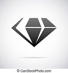 Vector gem icon