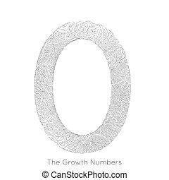 Vector generative branch growth number 0. Lichen like...