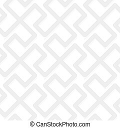 Vector geometric abstract pattern - gray seamless simple...
