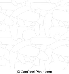 Vector geometric abstract pattern - halftone seamless simple funny texture