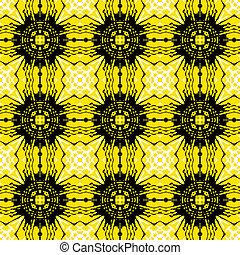 Vector geometric art deco pattern
