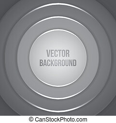 Vector Geometric Background. Business template. Paper circles