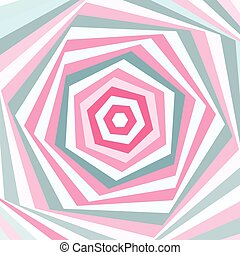 Vector geometric background in soft pastel colors