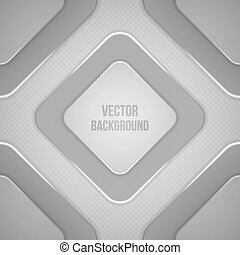 Vector Geometric Background. Paper squares