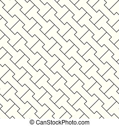 Vector geometric background - simple seamless pattern.