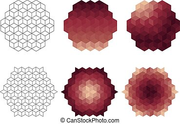 Vector Geometric Desigh Elements