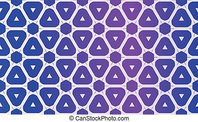 Vector Geometric Pattern with gradient backgroun. Triangles Curved Line. For Wallpaper, Presentation Background, Interior Design, Fashion Print