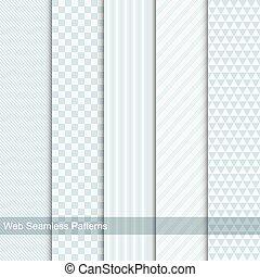 Vector geometric patterns, seamless