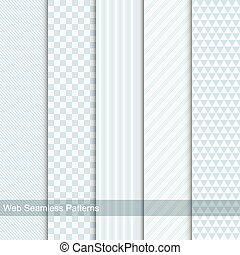 Vector geometric patterns, seamless