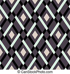 Vector geometric seamless argyle pattern