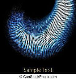 Vector geometric tech background. Vector creative background. Eps10