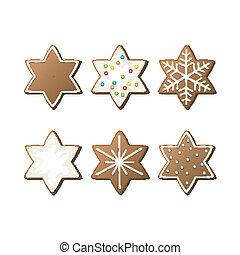 Vector Gingerbread Cookies