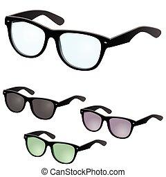 Vector glasses