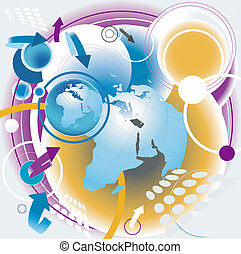 global communication  - vector global communication