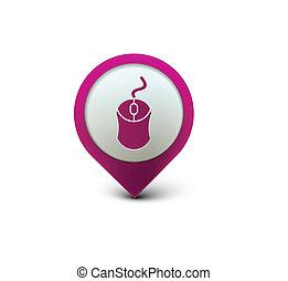computer mouse web icon